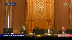 Ședința comisiei juridice, de disciplină și imunități a Camerei Deputaților României din 17 decembrie 2019