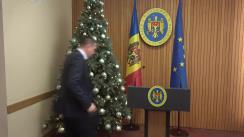 Declarații după ședința Guvernului Republicii Moldova din 17 decembrie 2019