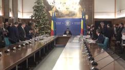 Ședința Guvernului României din 18 decembrie 2019