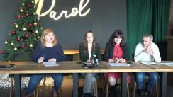 """Club de presă organizat de Centrul de Investigații Jurnalistice în colaborare cu Centrul Parteneriat pentru Dezvoltare la tema """"Femeile pe listele electorale: cum le percepe societatea?"""""""