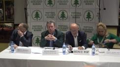 Lansarea candidatului Ecologiștilor (PER) în cursa pentru Primăria Sector 1