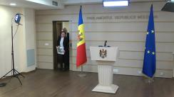 Declarația fracțiunii Platforma DA în timpul ședinței Parlamentului Republicii Moldova din 19 decembrie 2019