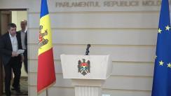 Declarațiile lui Lilian Carp și Liviu Vovc în timpul ședintei Parlamentului Republicii Moldova din 19 decembrie 2019