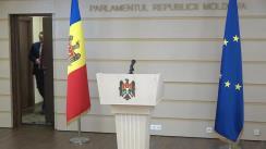 Declarația fracțiunii PSRM în timpul ședinței Parlamentului Republicii Moldova din 19 decembrie 2019
