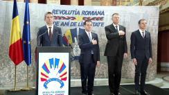 Vernisajul expoziției foto-documentare, organizată cu prilejul marcării a 30 de ani de la Revoluția Română din Decembrie 1989