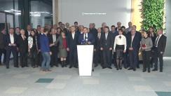 Conferință de presă după ședința Consiliului Politic Național al Platformei Demnitate și Adevăr