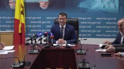Briefing susținut de conducerea Ministerului Economiei și Infrastructurii privind rezultatele negocierilor cu transportatorii și implementarea categoriilor de confort în transportul de pasageri