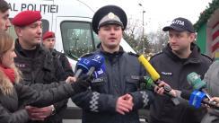 """Conferință de presă organizată de Inspectoratul General al Poliției cu tema """"Măsurile de asigurare a securității și ordinii publice în perioada sărbătorilor de iarnă"""""""
