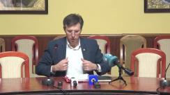 """Conferință de presă susținută de Dorin Chirtoacă cu tema """"Municipiul Chișinău - bilanțul anului 2019"""""""
