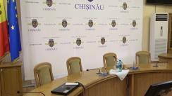 Conferință de presă susținută de Primarul general al municipiului Chișinău, Ion Ceban