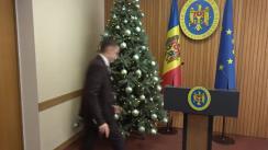 Declarațiile Ministrului Justiției, Fadei Nagacevschi, după ședința Guvernului Republicii Moldova din 3 ianuarie 2020