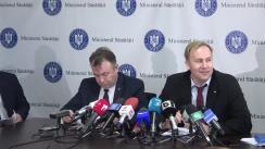Declarație de presă susținută de Ministrul Sănătății al României, Victor Costache, privind concluziile verificărilor efectuate de Corpul de Control al Ministerului Sănătății la Spitalul Clinic de Urgență București Floreasca