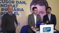 """Conferință de presă cu tema """"Administrația Firea responsabilă de poluarea aerului din București"""""""