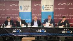 """Dezbateri publice cu tema """"Tensiunile militare și geopolitice din Orientul Mijlociu: impact asupra Republicii Moldova și poziția Republicii Moldova"""""""