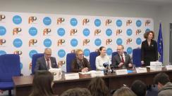 Conferință de presă prilejuită de prima consultare dintre noul Board al Copiilor și Avocatul Copilului și semnarea memorandumului de Înțelegere între Avocatul Poporului și Reprezentanța UNICEF în România, pentru perioada 2020-2022