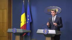 Conferință de presă după ședința Guvernului României din 16 ianuarie 2020