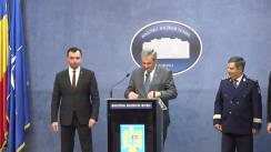 Declarație de presă susținută de Ministrul Afacerilor Interne al României, Ion Marcel Vela, privind cartea electronică de identitate și proiectul legislativ privind reglementarea circulației trotinetelor electrice pe drumurile publice