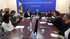 Ședință organizată de Ministerul Educației, Culturii și Cercetării cu organizațiile de tineret din țară