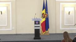 Conferință de presă organizată de Procuratura Generală privind rezultatele controalelor complexe, desfășurate la Procuratura Anticorupție și PCCOCS