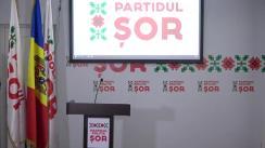 Briefing de presă organizat de Partidul Politic ȘOR pe subiectul alegerilor parlamentare în circumscripția 38, Hâncești
