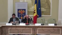 Masă rotundă de prezentare a recomandărilor delegației Uniunii Europene împotriva corupției și spălării banilor