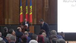 Întâlnirea prim-ministrului Republicii Moldova, Ion Chicu și a Guvernului, cu primarii din Republica Moldova