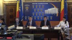 Dezbaterea publică organizată de Ministerul Afacerilor Interne privind circulația pe drumurile publice