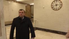 Conferința de presă susținută de președintele Partidului Platformei DA, Andrei Năstase