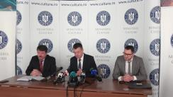 Conferință de presă organizată de Ministerul Culturii privind concluziile controlului efectuat de Corpul de control al ministrului la Biblioteca Națională a României