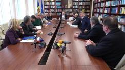 Ședința de lucru cu participarea reprezentanților federațiilor sportive naționale, altor structuri sportive pentru a examina propunerile de modificare a Legii nr. 330 cu privire la cultura fizică și sport