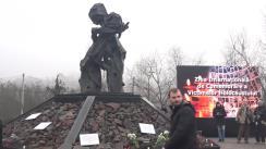 Miting-requiem de comemorare a victimelor Holocaustului