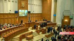 Ședința comună a Camerei Deputaților și Senatului României din 29 ianuarie 2020