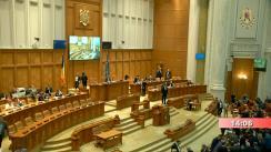 Ședința în plen a Camerei Deputaților României din 28 ianuarie 2020