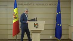 Briefing susținut de Președintele Fracțiunii ACUM Platforma DA, Alexandru Slusari