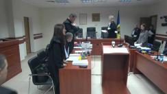 Ședința Curții de Apel Chișinău de examinare a recursului Penitenciarului nr. 13 împotriva deciziei privind eliberarea înainte de termen a fostului premier Vlad Filat