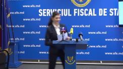 """Briefing de presă organizat de Serviciul Fiscal de Stat cu genericul """"Concursul """"Loteria fiscală"""" lansat de SFS"""""""