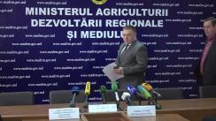 """Conferința de presă organizată de Ministerul Agriculturii, Dezvoltării Regionale și Mediului cu tema """"Rezultatele negocierilor cu Federația Rusă în vederea extinderii listei exportatorilor de fructe"""""""