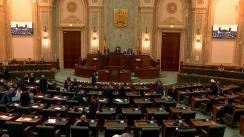 Ședința în plen a Senatului României din 3 februarie 2020