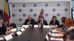 Conferință de presă organizată de Federația Asociațiilor Bolnavilor de Cancer și Ministerul Sănătății din România cu ocazia Zilei Mondiale de Luptă împotriva Cancerului