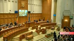 Ședința comună a Camerei Deputaților și Senatului României din 5 februarie 2020. Dezbaterea moțiunii de cenzură inițiate de 208 deputați și senatori