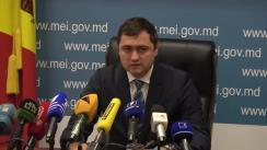 """Briefing de presă organizat de Ministerul Economiei și Infrastructurii la subiectul """"Modificarea tarifelor în transport – progrese și probleme"""""""