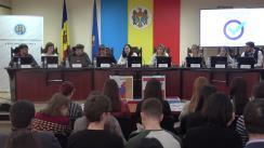Ședința specială organizată de Comisia Electorală Centrală cu participarea în calitate de membri ai Comisiei a studenților Facultății Relații Internaționale, Științe Politice și Administrative a Universității de Stat din Moldova