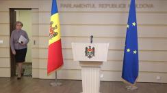 Briefing susținut de Președintele Parlamentului Republicii Moldova, Zinaida Greceanîi, privind prioritățile sesiunii de primăvară 2020 a Parlamentului