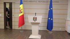Declarațiile lui Vlad Batrîncea în timpul ședinței Parlamentului Republicii Moldova din 6 februarie 2020
