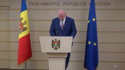 Declarațiile lui Vasile Bolea în timpul ședinței Parlamentului Republicii Moldova din 6 februarie 2020