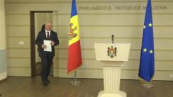 """Conferință de presă susținută de deputatul Fracțiunii Blocul ACUM Platforma DA, Chiril Moțpan, cu tema """"Concluzii cu privire la dubla identitate a unor cetățeni ai Republicii Moldova"""""""