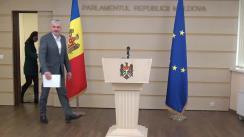 Briefing susținut de Președintele Fracțiunii Blocul ACUM Platforma DA, Alexandru Slusari