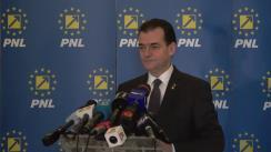 Conferință de presă după ședința Biroului Politic Național al PNL din 10 februarie 2020