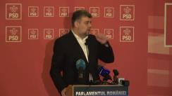 Conferință de presă după ședința Comitetului Executiv Național al PSD din 10 februarie 2020