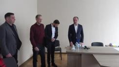 """Primarul general al municipiului Chișinău, Ion Ceban, întreprinde o vizită de lucru la Institutul Municipal de Proiectări """"CHIȘINĂUPROIECT"""""""